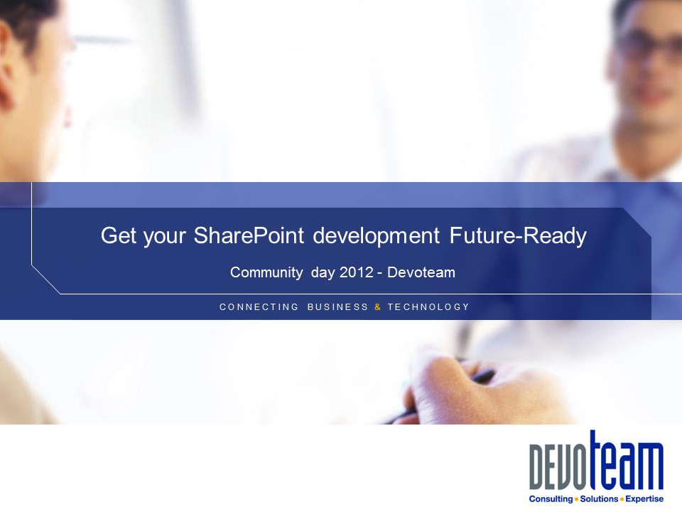 Get your SharePoint development future ready!